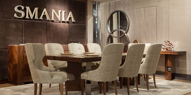 smania opens a new showroom at harrods, the temple of london's luxury