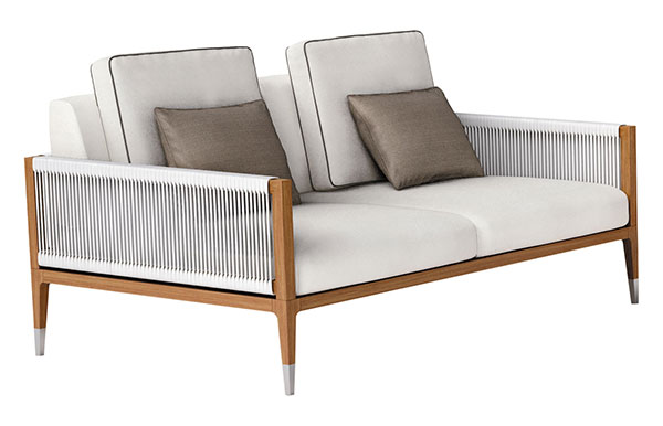 Amalfi divani da esterno outdoor produzione di lusso for Divani x esterno