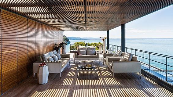 Smania outdoor design furniture