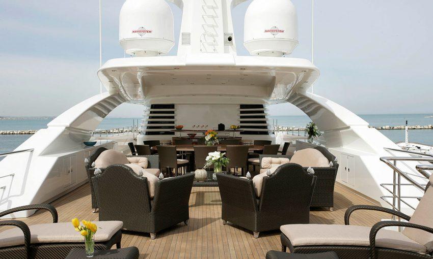 Smania arredamento di lusso yacht