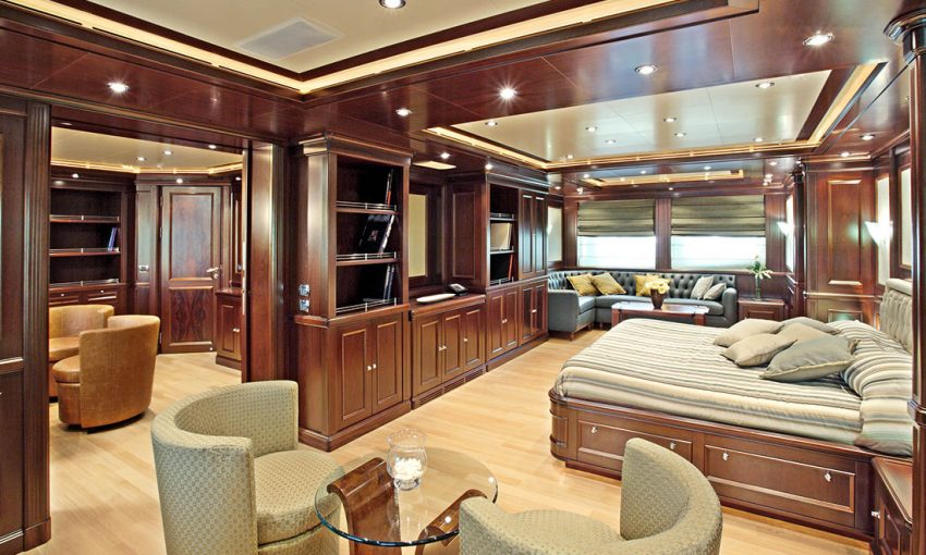 Smania arredamento contemporaneo yacht