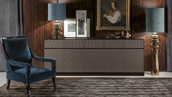 Luxury classic italian style furniture and lighting for Casa moderna di lusso