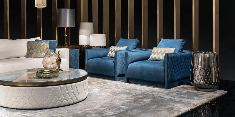 I divani di lusso della collezione Miami | Blog Smania