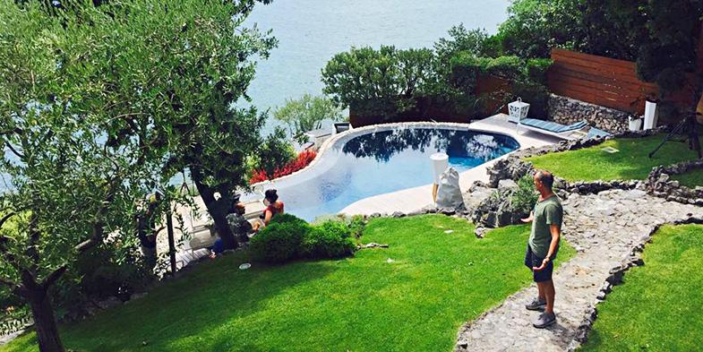 shooting arredo per piscine esterne Smania