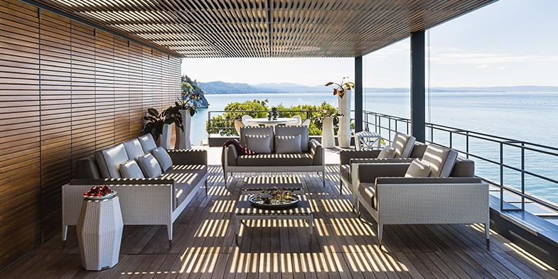 arredare la casa al mare con mobili da esterno
