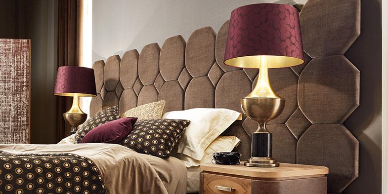 Il Mood proposto da Smania per la camera da letto di lusso: Nettare ...
