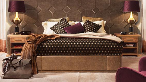 camera da letto di lusso Smania