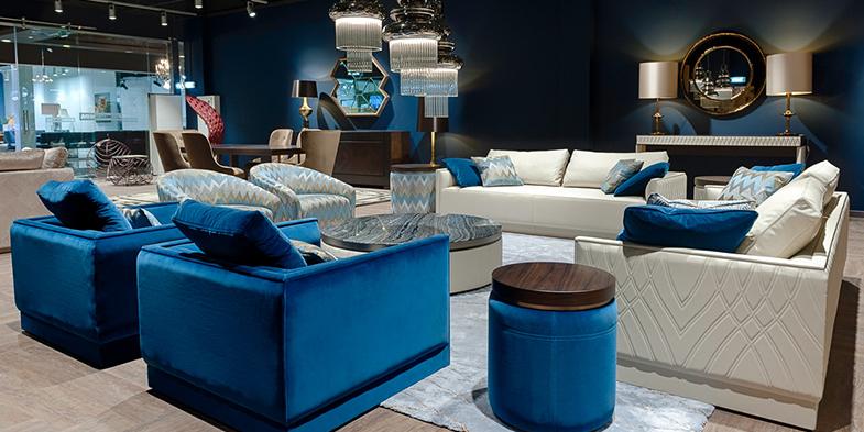 Smania smania 39 s italian furniture show the show at the - Mobili italiani design ...