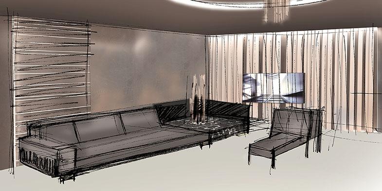 Salone del Mobile Smania - Belmond Sketch