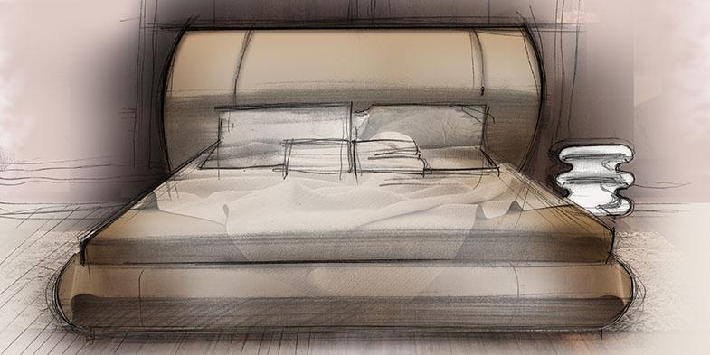 Salone del Mobile Smania - Grand Soho Sketch