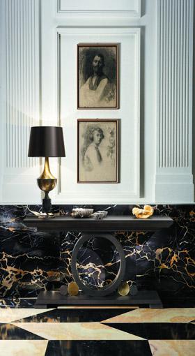 Galliano consolle stile classico - mobili Smania soggiorno di lusso