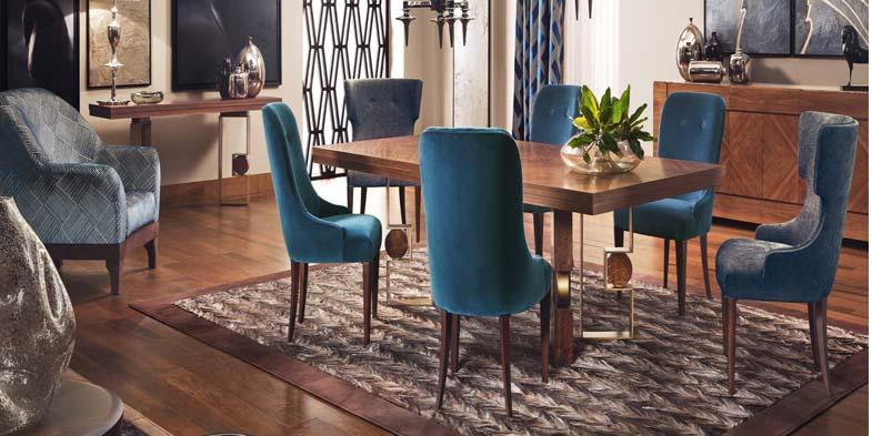 Rodrigo tavolo alto - arredamento sala da pranzo classica moderna