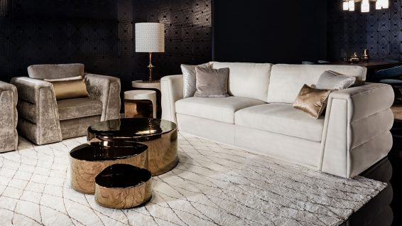 Smania italian furniture living room