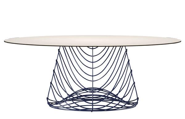 Skiathos - tavolo da pranzo da esterno lusso