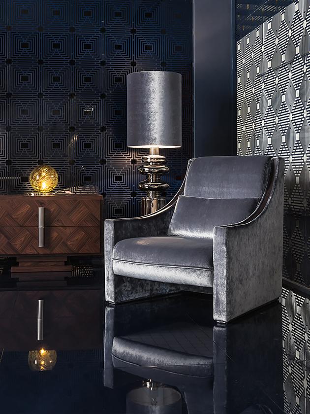 Embassy poltrona soggiorno design