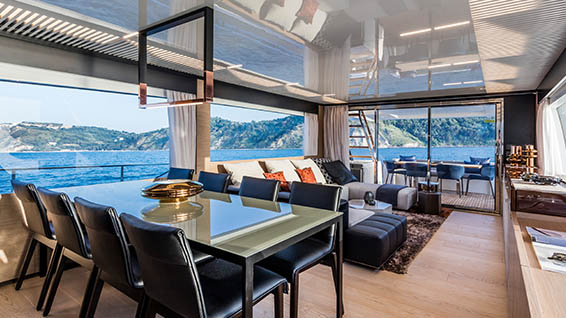 Smania fine yacht furnishings
