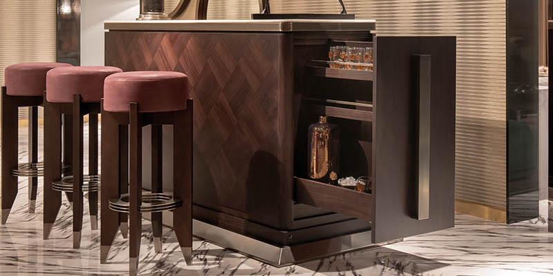 Smania mobili classici lusso legno