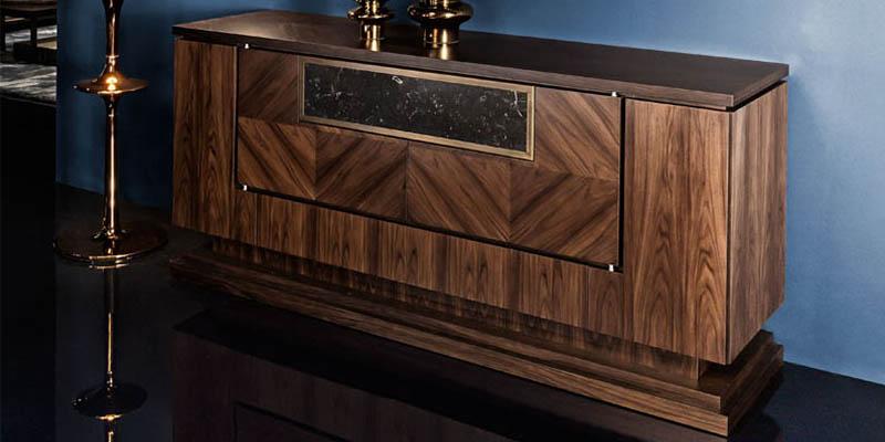 Smania mobili pregiati in legno