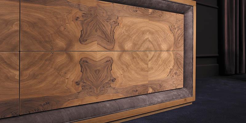 Smania mobili soggiorno moderni in legno