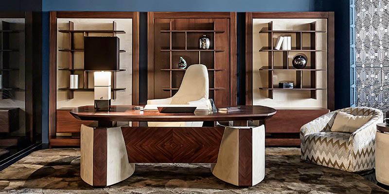 Lo stile di Smania per un elegante ufficio di lusso | Blog ...